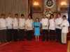 Officers Sworn in by GMA at Malacañang Palace